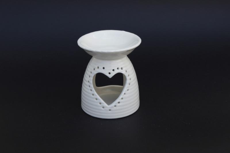 Aroma lampy - srdce 11.5 cm