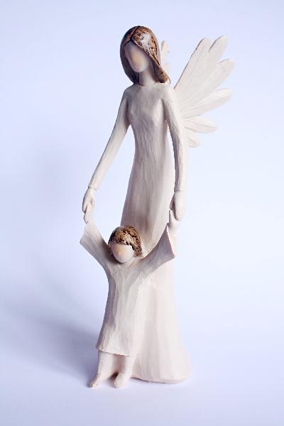 Andělka s dítkem